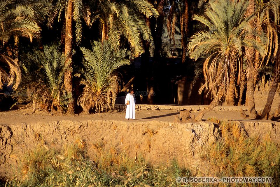Photos d'égyptiens au bord du Nil photo guide touristique en Egypte