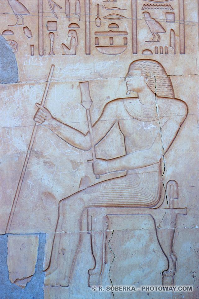 Photos de tombeau photo du tombeau d'un prince égyptien à Assouan