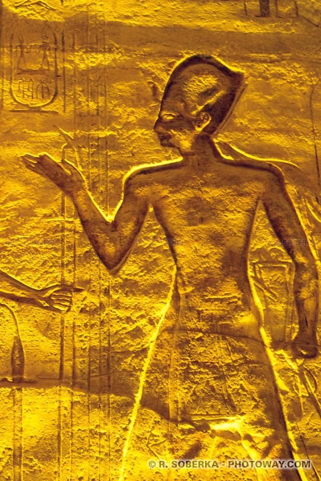 Photo du pharaon Ramsès II - Photos du pharaon Ramsès II en Egypte