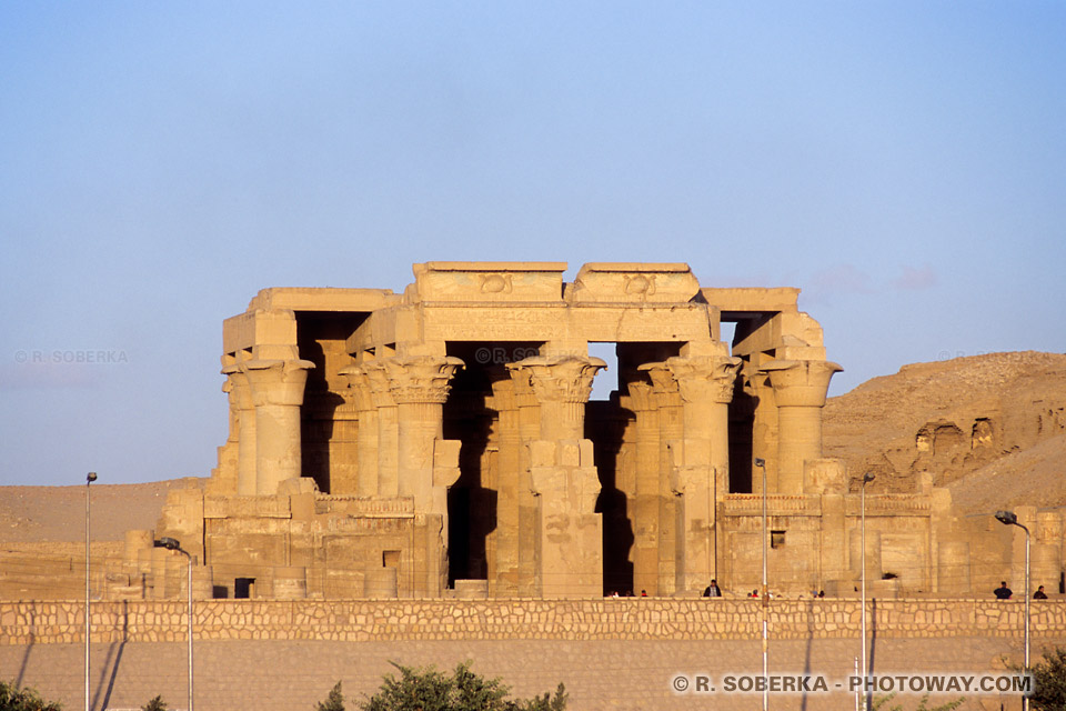 Photos de Kom Ombo photo du temple de Kom Ombo Egypte en Images