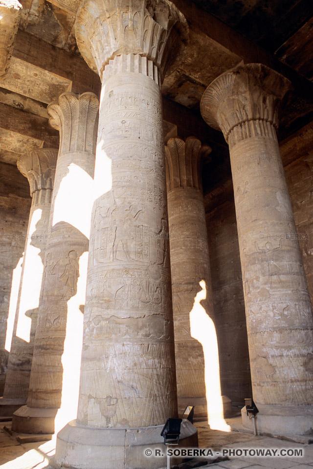 Tourisme en Egypte guide de visite du temple d'Edfou en Egypte