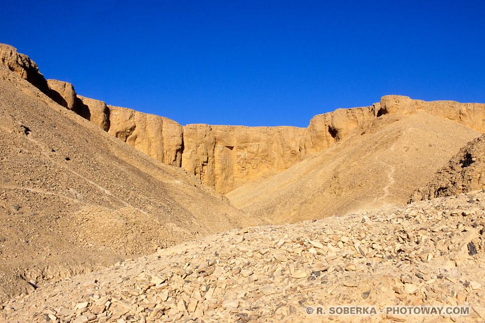 Photos de la Vallée des Rois photo Vallée des Rois en Egypte images