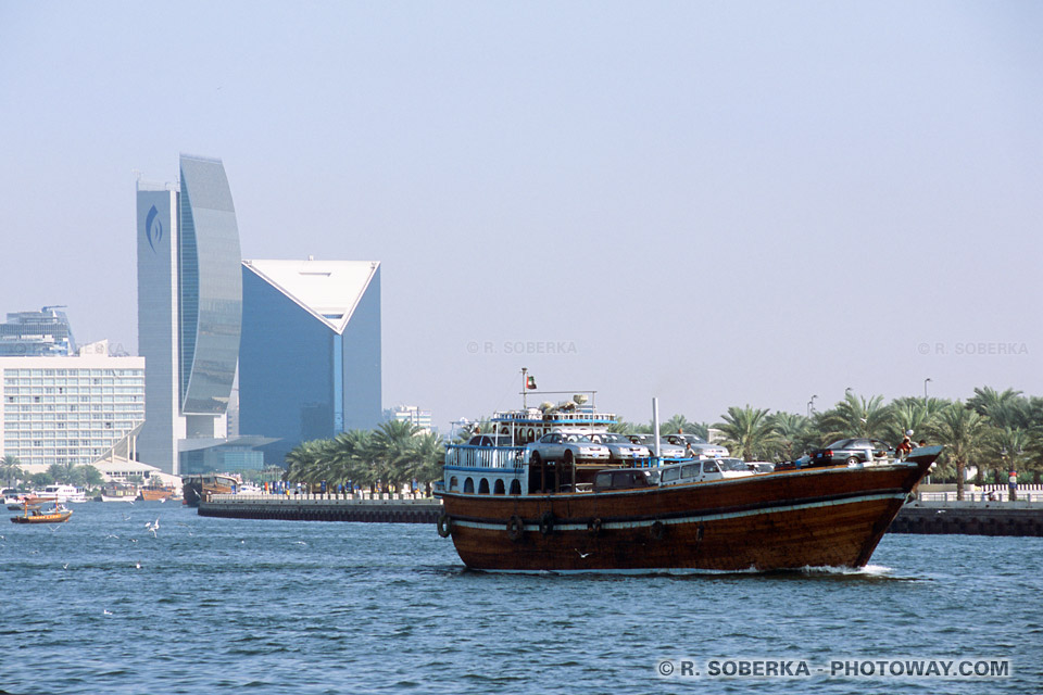Images Photos de Dubaï Creek photo Dhow à Dubaï Emirats Arabes Unis
