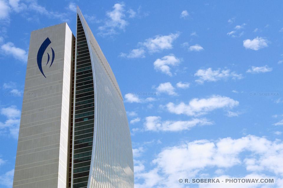 Image Photo banque à Dubaï photos National Bank Of Dubaï Emirats Arabes