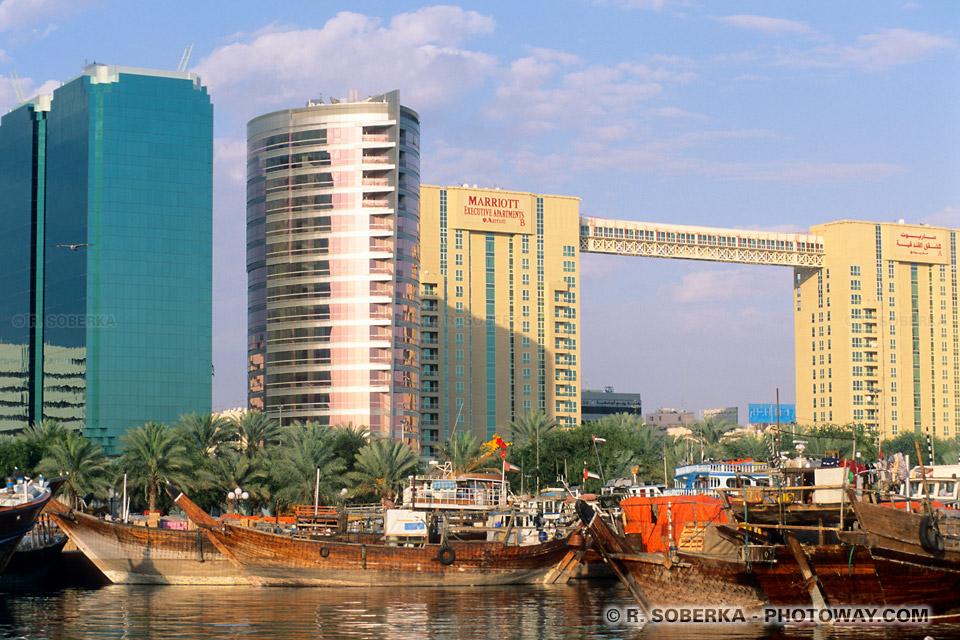 Image Photo port de Dubaï photos de Dhows aux Emirats Arabes Unis