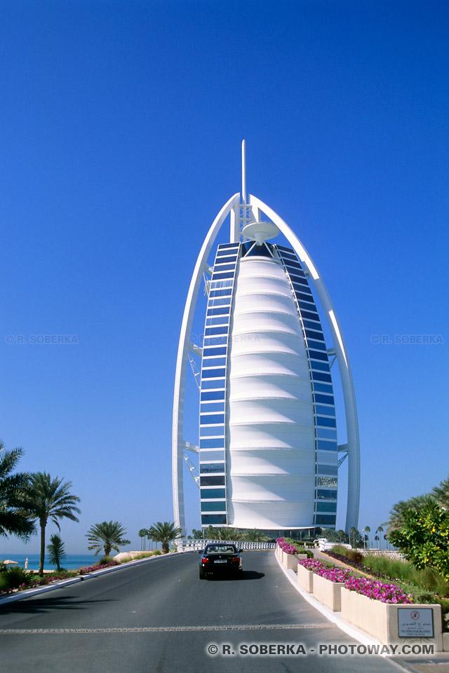Image Photos du Burj Al Arab photo hotel de luxe Emirats Arabes Unis