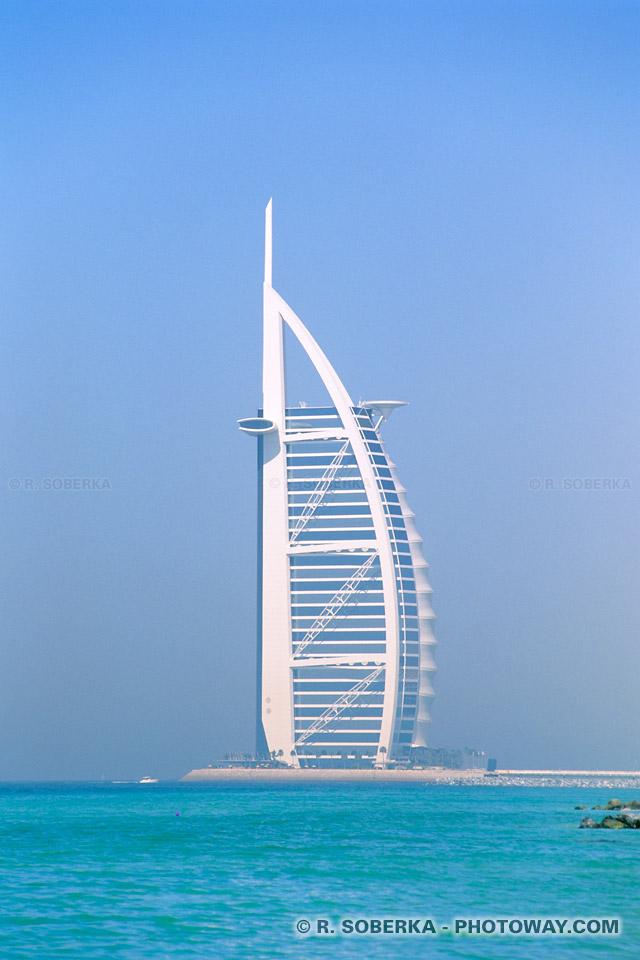 Photo du Burj Al Arab photos du Burj Al Arab hotel à Dubaï émirats