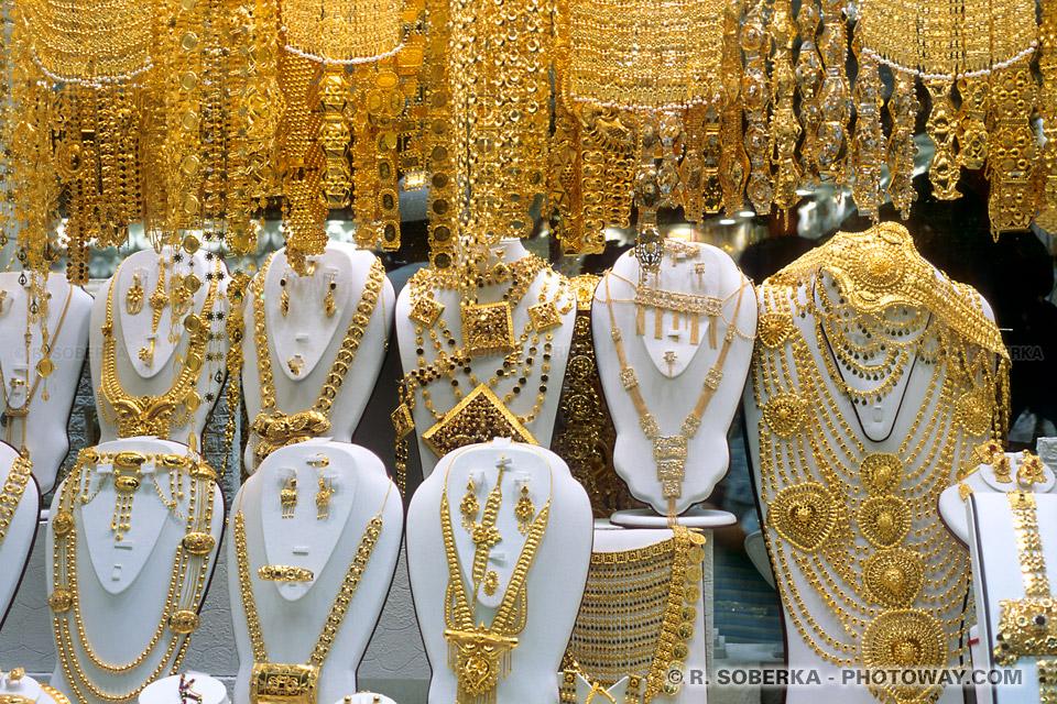 Image Photo de bijoux photos de bijoux en or bijouterie à Dubaï Emirats