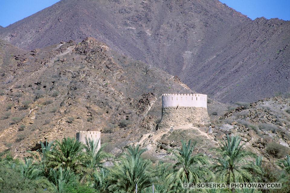 Image Photos Watchtowers photo Watchtower à Badiyah Emirats Arabes