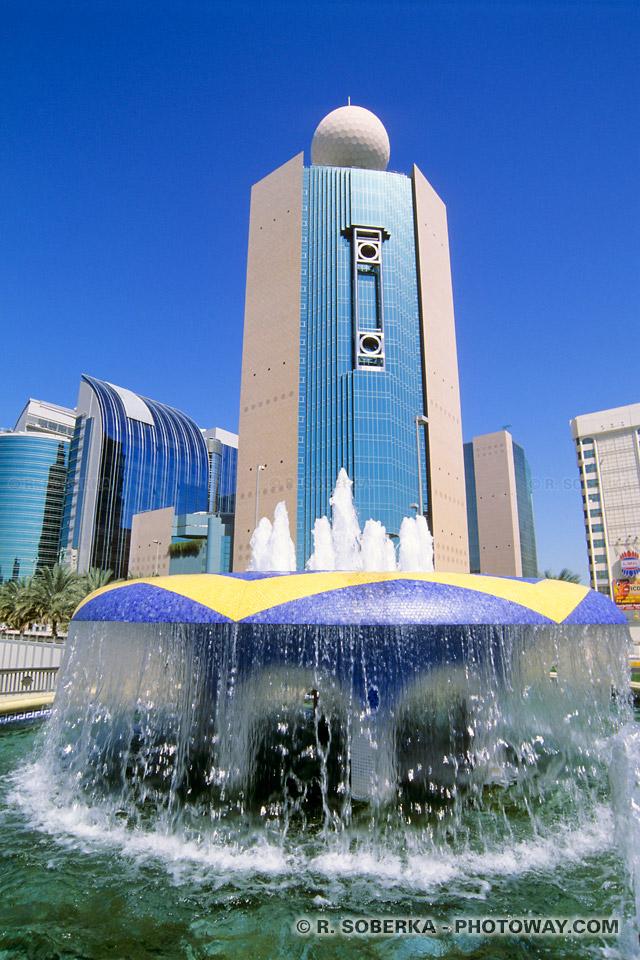 Guide touristique Emirats Arabes Unis informations sur Abu Dhabi