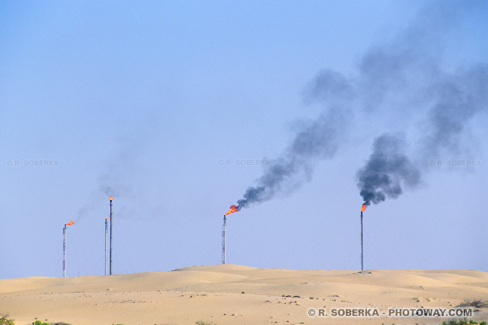 Image Photo du pétrole photos du pétrole dans le désert émirats Arabes Unis