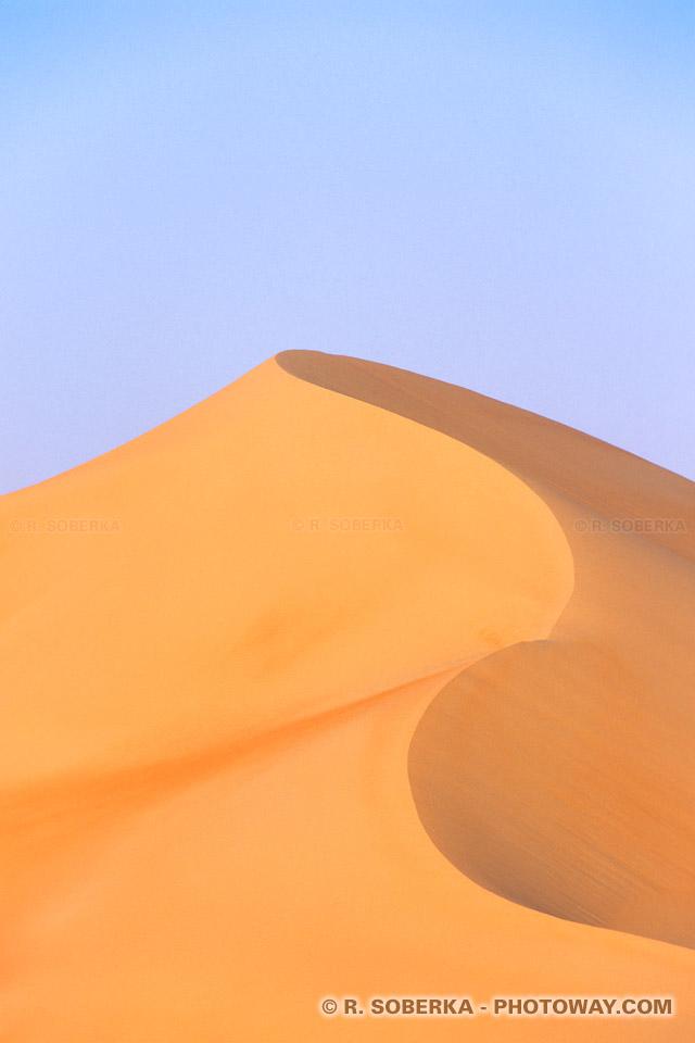 Phototèque de dunes banque d'images désert et dunes Emirats Arabes