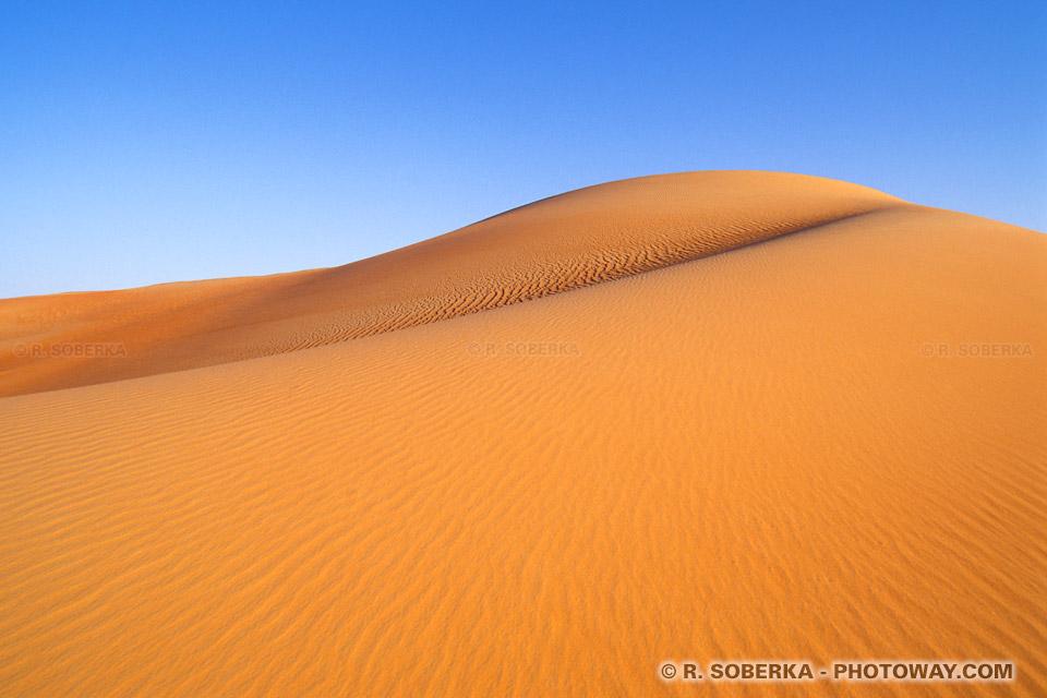 Image Photo d'un décor grandiose du désert photos grandioses nature
