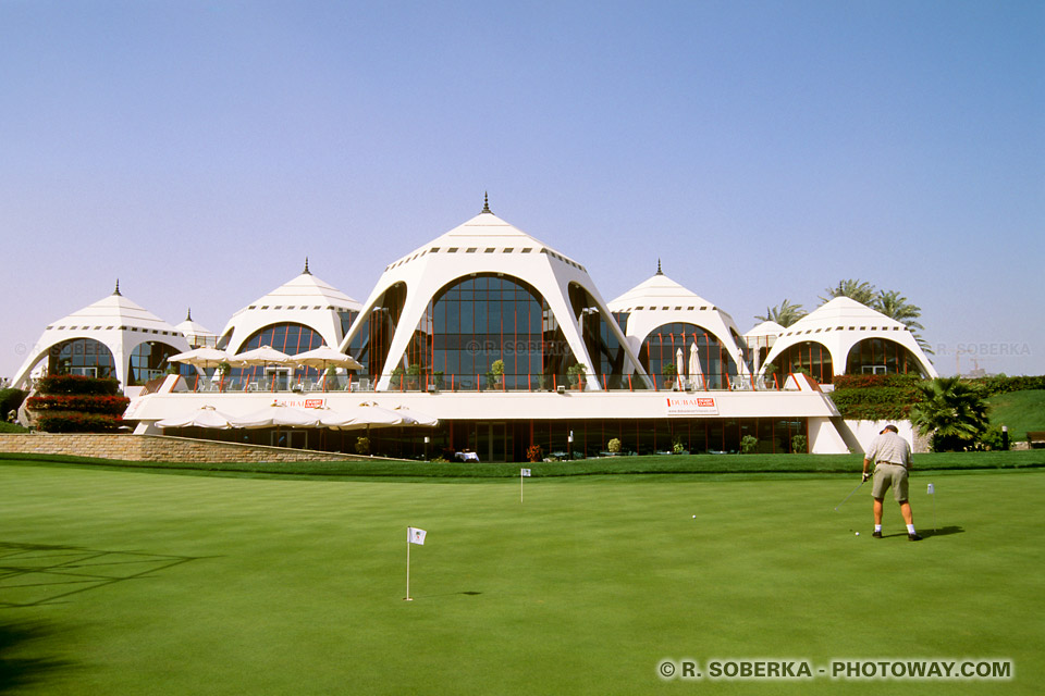 Image Photos The Emirates Golf Club de Dubaï photo Emirats Arabes Unis