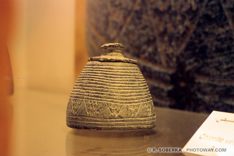 Image photos découvertes archéologiques photo poterie Emirats Arabes Unis