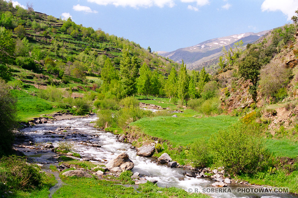 montagnes Sierra Nevada Espagne