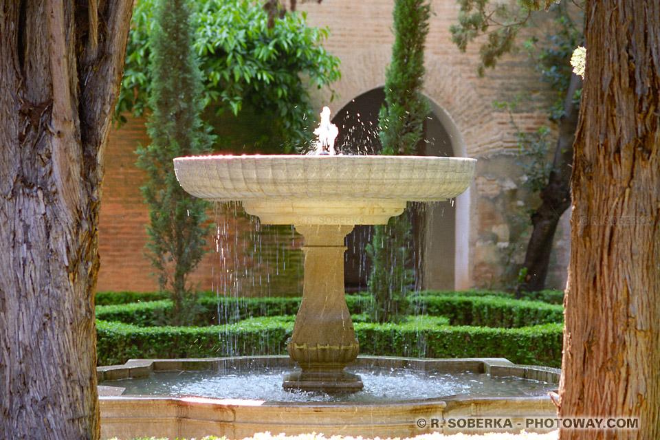 Jardins de l'Alhambra - Grenade
