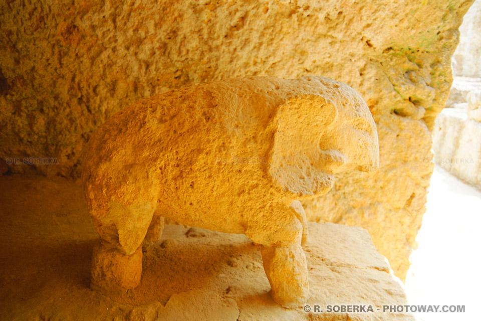 Tombe de la nécropole romaine de Carmona - Espagne