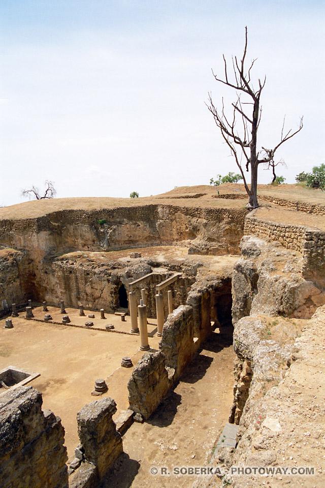 Nécropole romaine de Carmona en Espagne