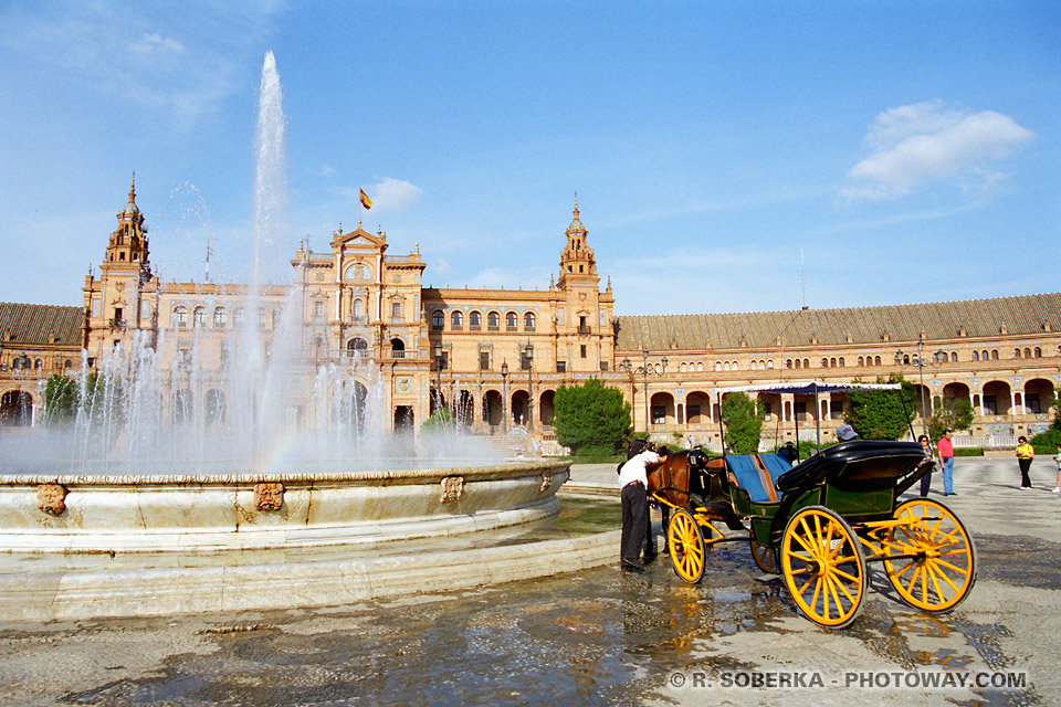 fontaines Place d'Espagne