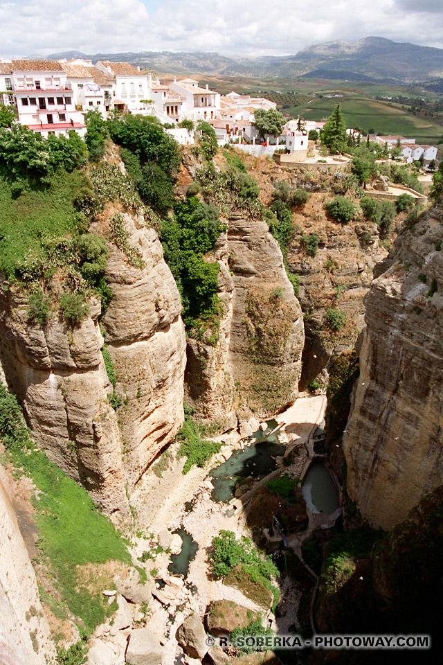 Ville de Ronda Espagne