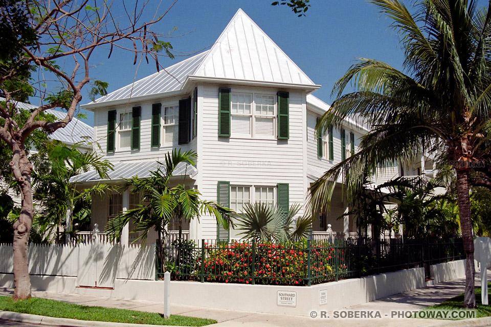 Photos des maisons de Key West images de la pointe sud de la Floride