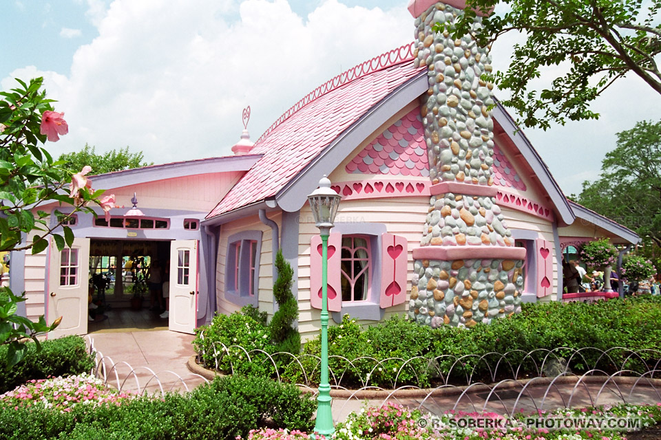 images de la maison de Mickey Mouse photos à Disneyworld en Floride