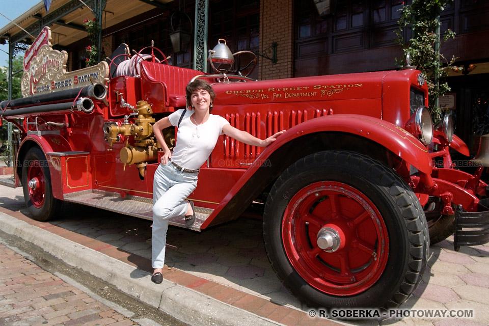 Photos de camions de pompiers américains à Orlando en Floride