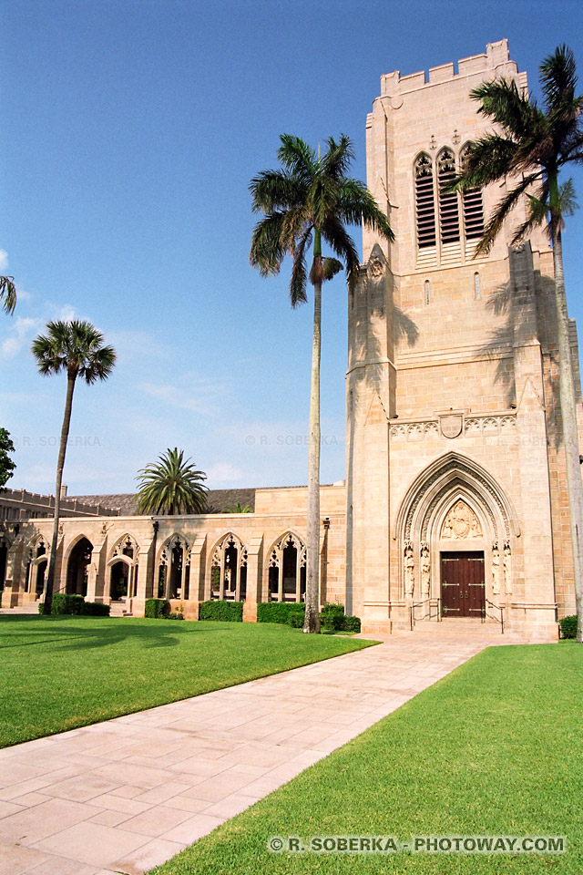 Photos de Palm-Beach : Photo d'une église en Floride