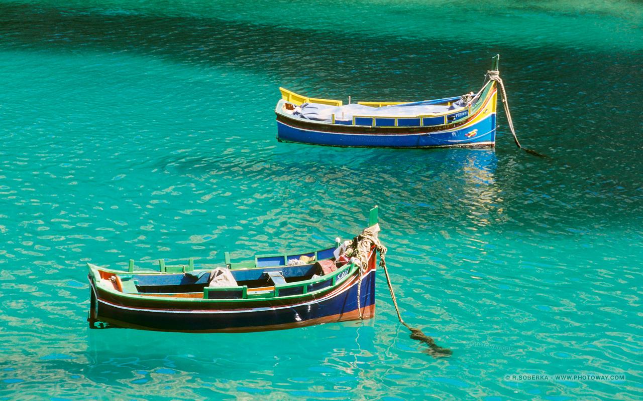 Fond d 39 cran malte fonds d 39 cran bateaux luzzu wallpaper malte for Fond ecran 17 pouces