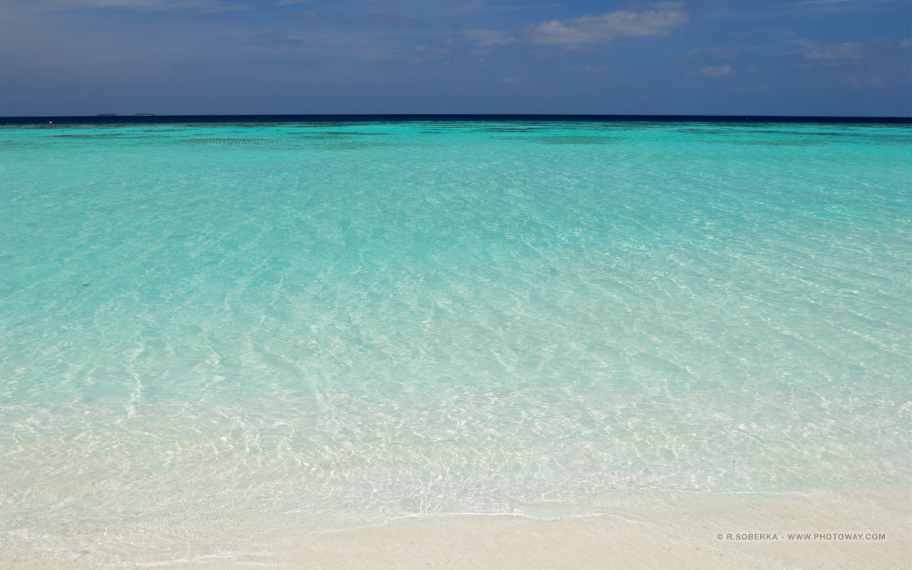 Fonds d 39 cran oc an indien plage aux maldives wallpaper for Fond d42cran