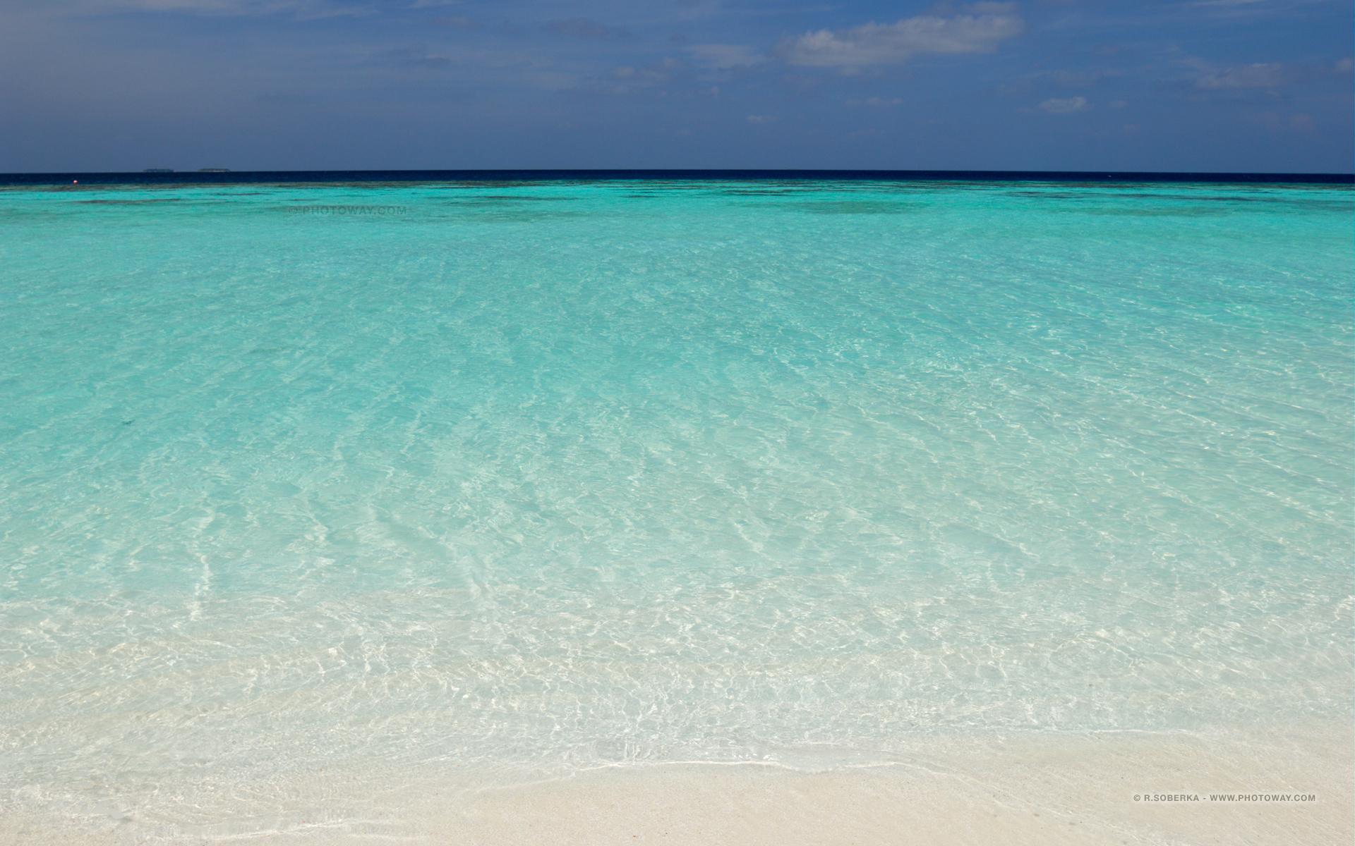 Fonds d 39 cran oc an indien plage aux maldives wallpaper for Fond ecran 17 pouces