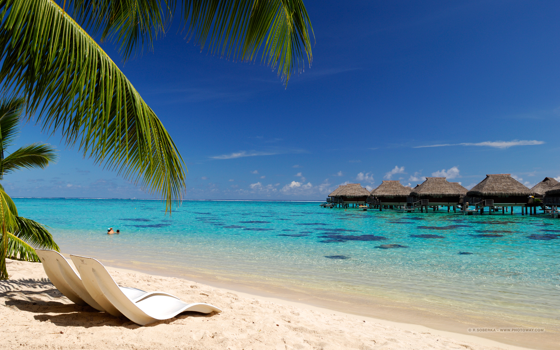 Hd Tropical Island Beach Paradise Wallpapers And Backgrounds: De Vacances Wallpaper