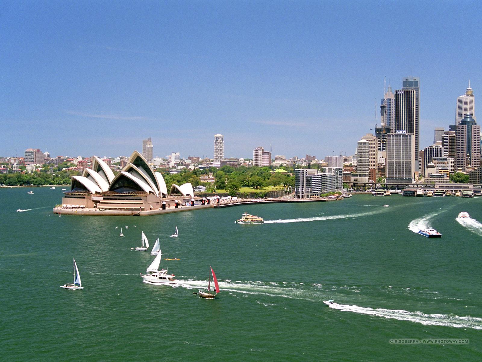 Fond d 39 cran de sydney australie fond d 39 cran opera sydney for Fond ecran 17 pouces