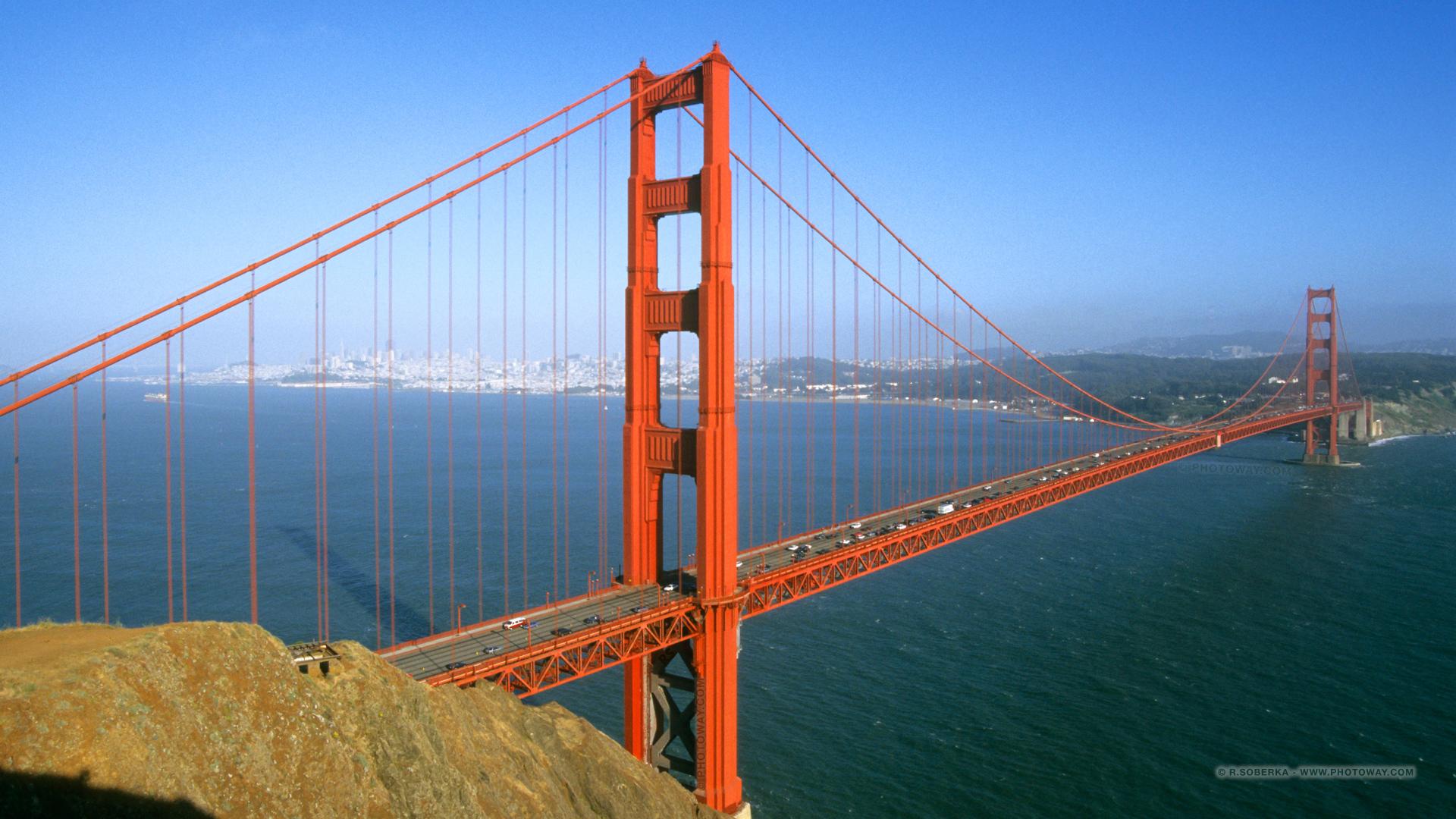 Fond D Ecran Golden Gate Bridge Wallpaper Fonds D Ecran San Francisco