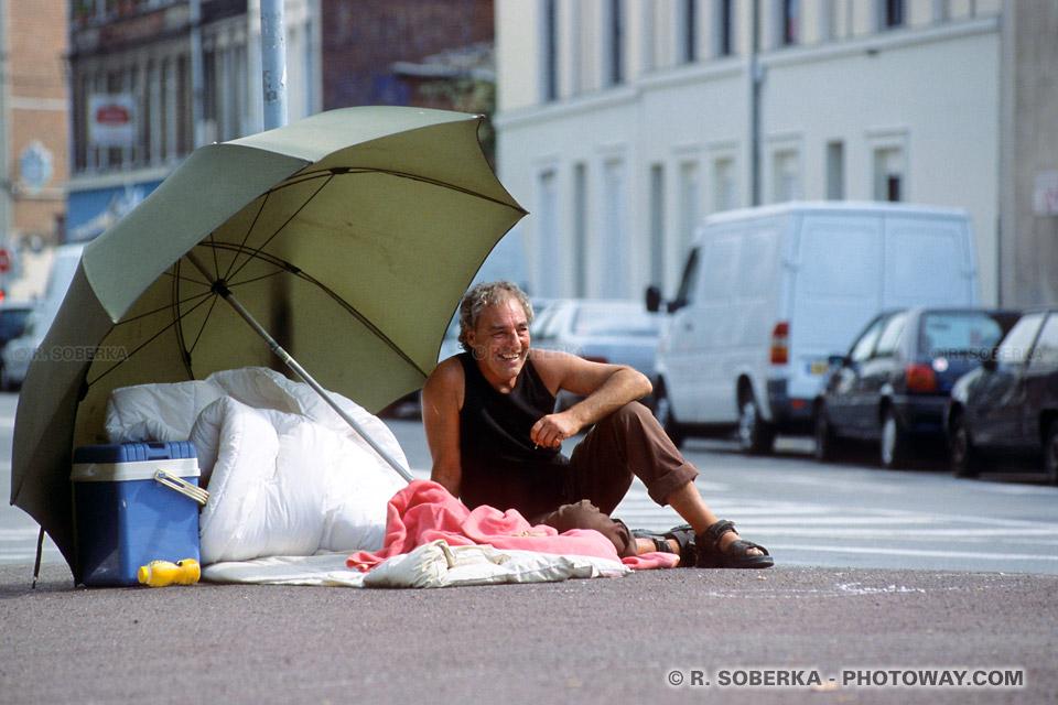 Anglais squatter - Braderie de Lille