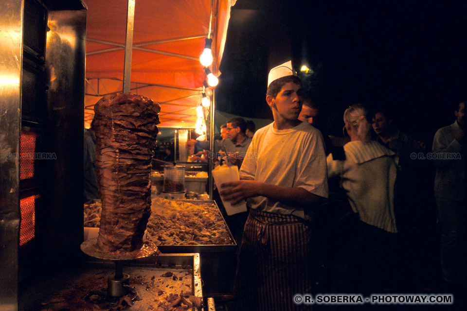 kebab à la Braderie de Lille