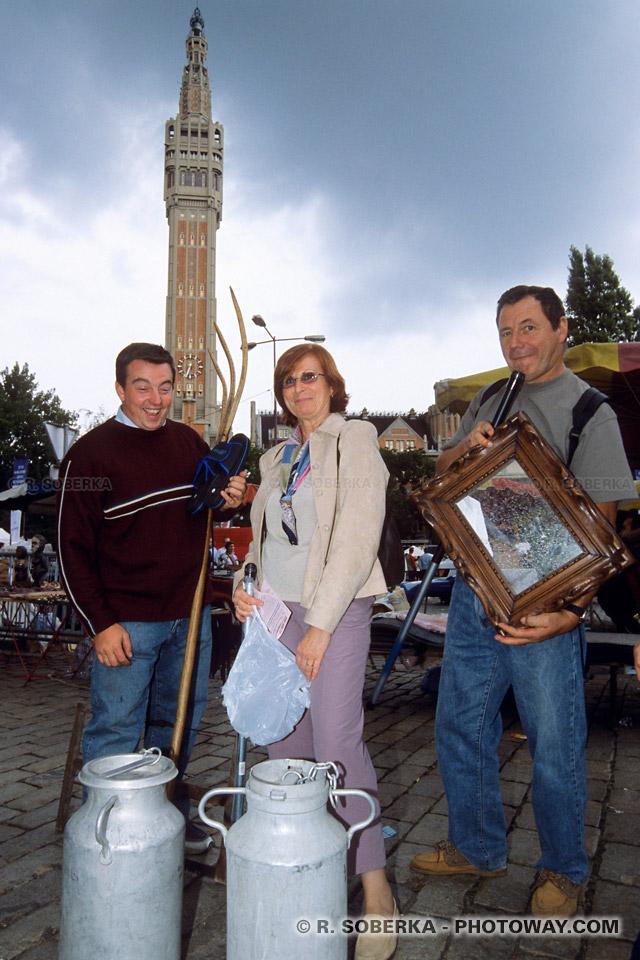 touristes à Lille