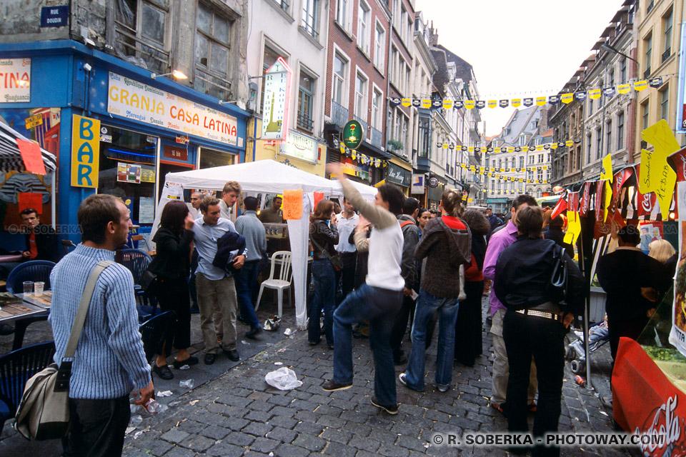 rues pavés du Vieux Lille
