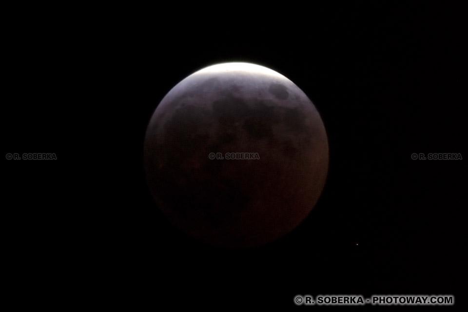 Photos de lune : photothèque de la lune lors de l'éclipse de mars 2007