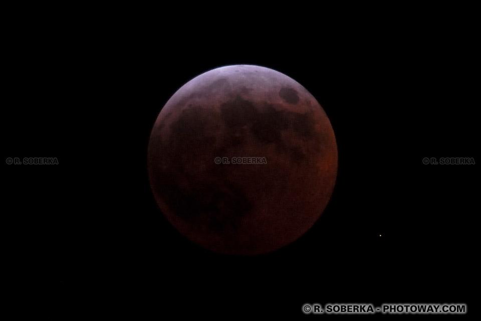 Image de la lune : images de l'éclipse totale de lune du 3-4 mars 2007