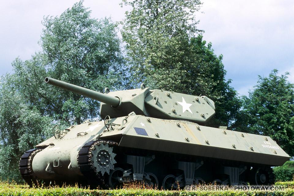 Images Photos chars américains photo du char Sherman M-10 Tank en photo