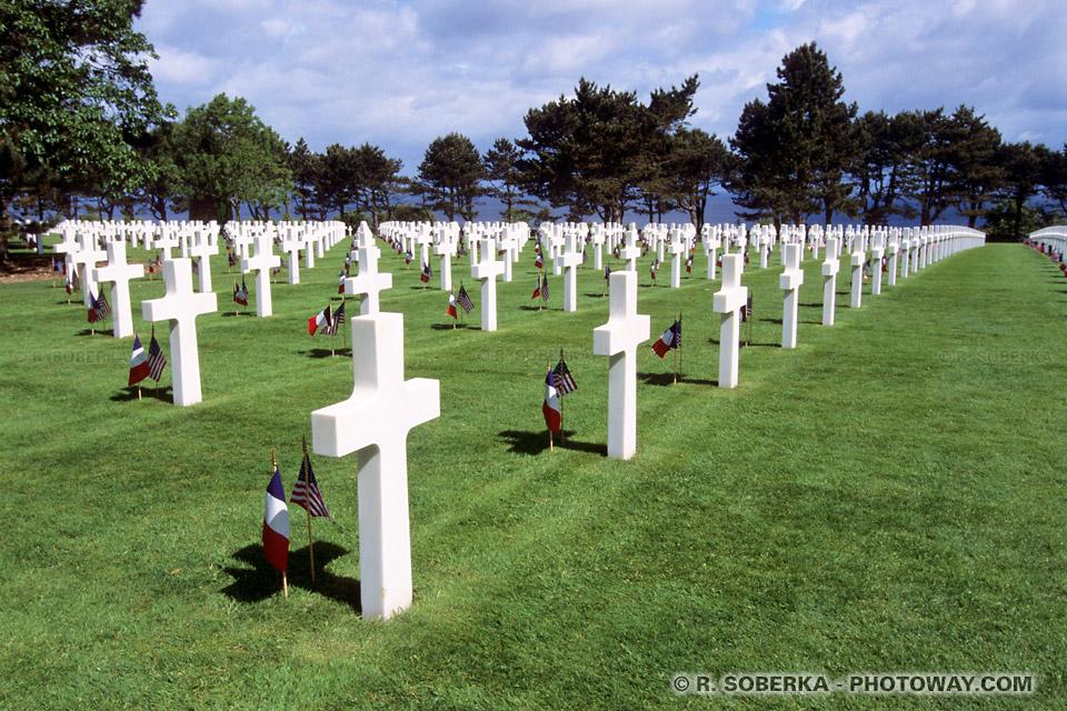 Images Photos des croix de tombes de cimetières photos du cimetière Normand