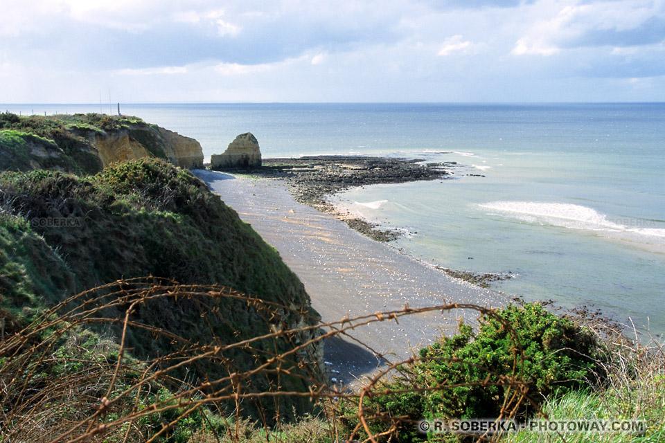 Images Photos de la Pointe du Hoc photos en Normandie photo du débarquement