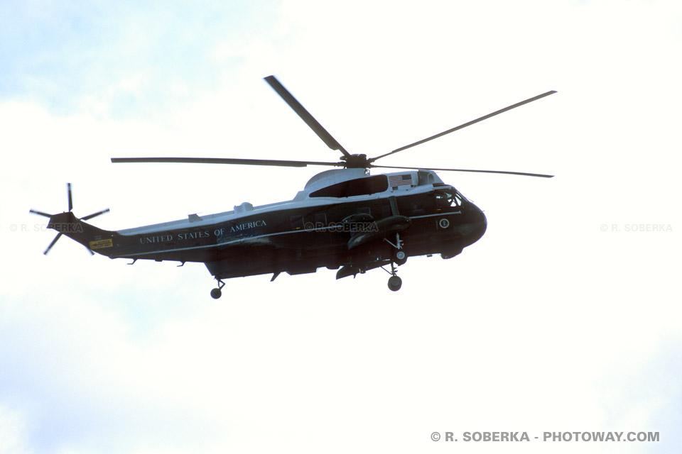 Images Photos d'hélicoptères photo de hélicoptère du président américain