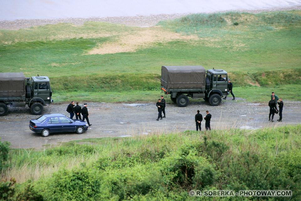 Paranoïa des américains lors de la visite de George Bush en Normandie