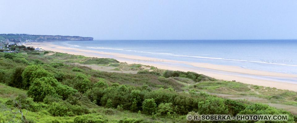 Images Photos Omaha Beach photos plage d'Omaha Beach photo en Normandie