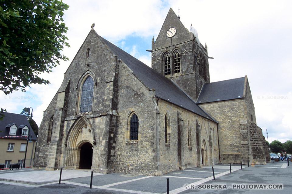 Images Photos de Sainte-Mère-Eglise photo du débarquement photos 1944