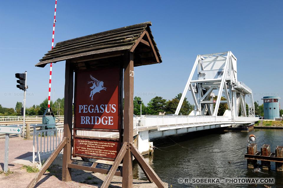 Images Photos du Pegasus Bridge photos du pont Pégas photo en Normandie