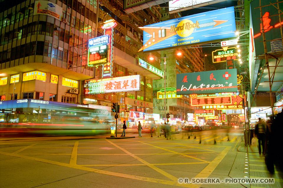 image photos de Nathan Road photo à Kowloon Hong Kong reportage photo